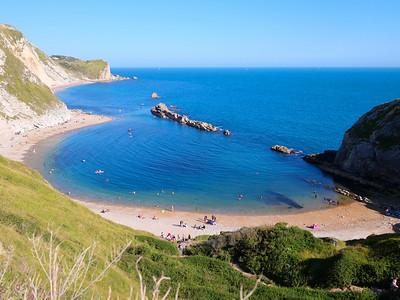 Lulworth Cove Jurassic Coast in Dorset