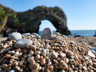 Pebble on heap of pebbles