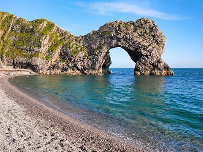 Durdle door coast beautiful coastline.