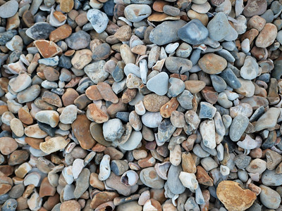 Pebbles in Preston Beach, Weymouth, England, UK