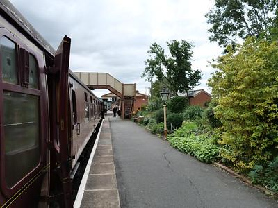 The train at Toddington station