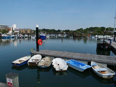 Lymington Quay, England, UK