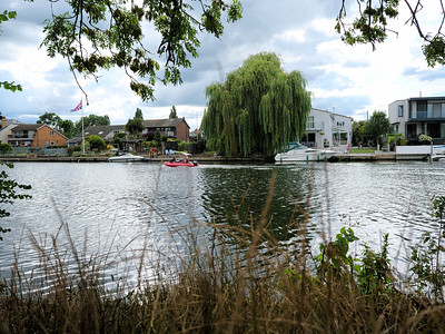 Staines upon Thames on River Thames