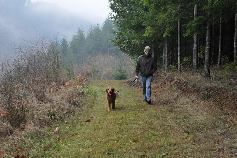 Homer (13), adopted 2005, with dad Lorn