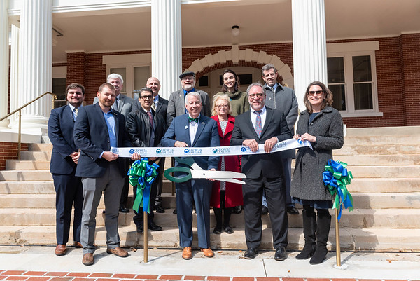 Georgia College celebrates the grand re-opening of historic Terrell Hall.