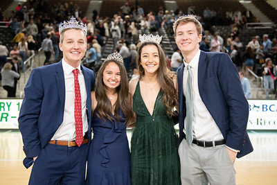 Georgia College Homecoming Court winners.