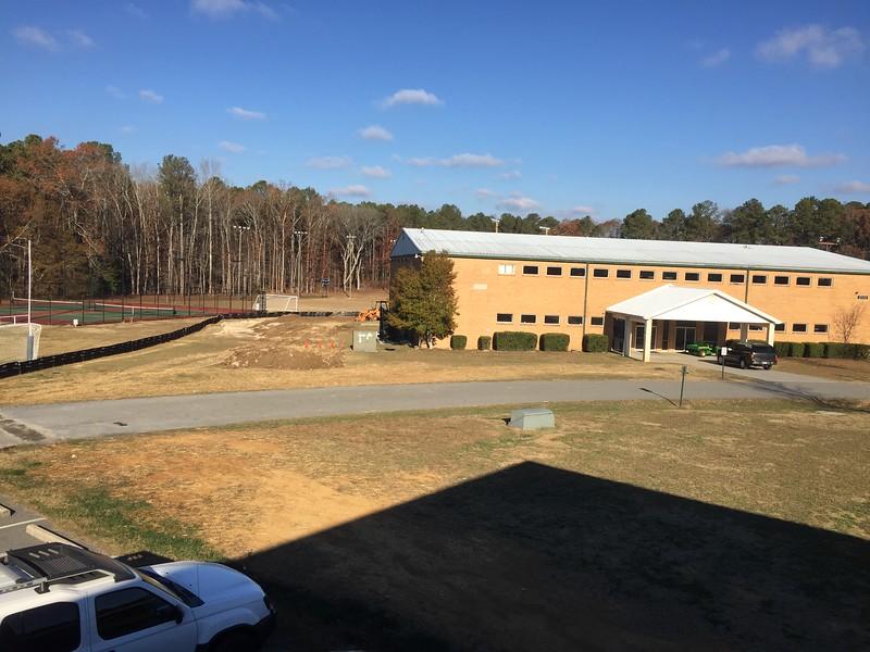 New Cafeteria & Gym Complex, December 9, 2016