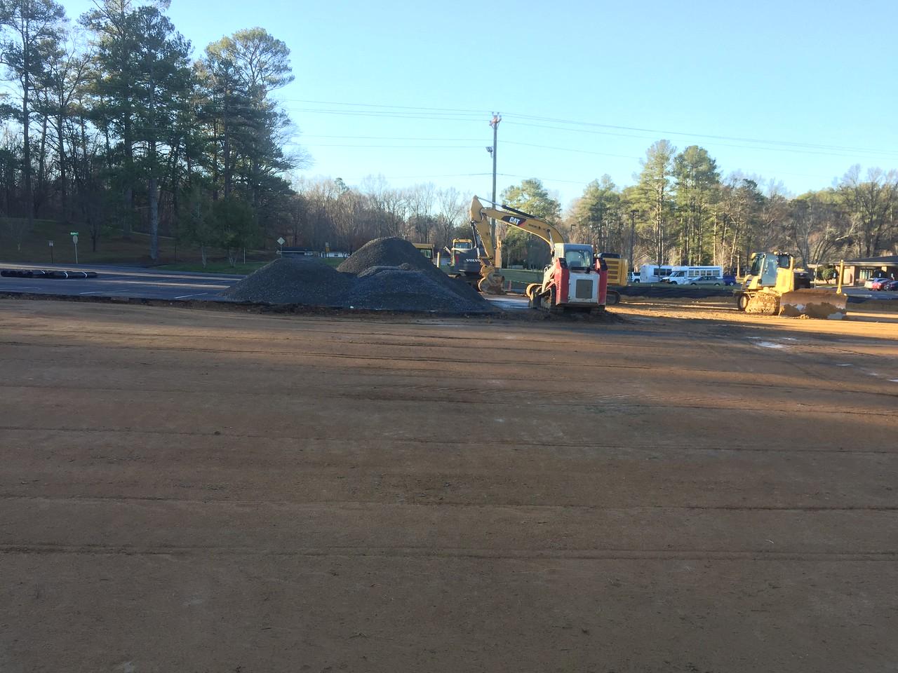 Main Parking Lot, January 26, 2017