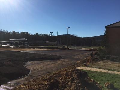 Main Parking Lot, January 30, 2017