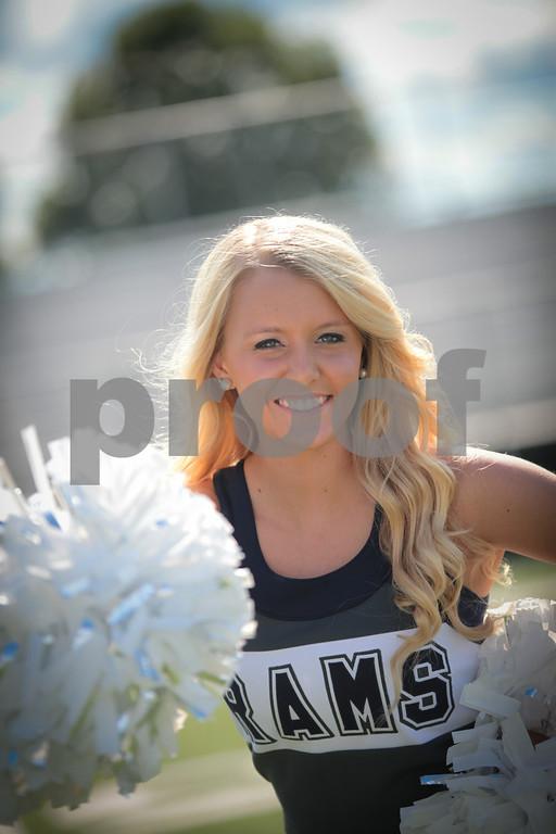 2014 Grace High School Cheerleaders