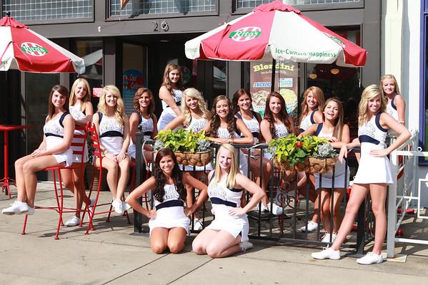 GCA HS Cheerleaders 2012