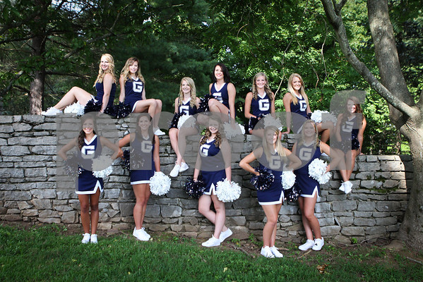 Grace High School Cheerleaders 2013