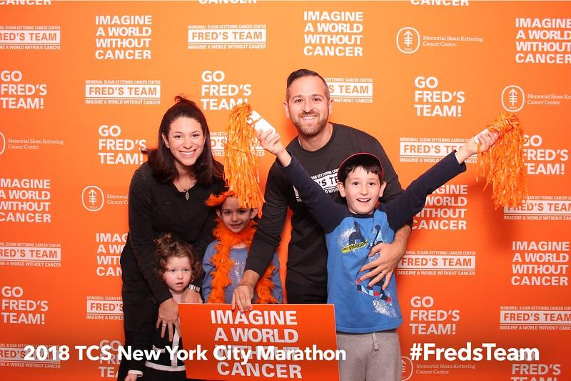 2018-11-03 MSK Freds Team pre-marathon dinner