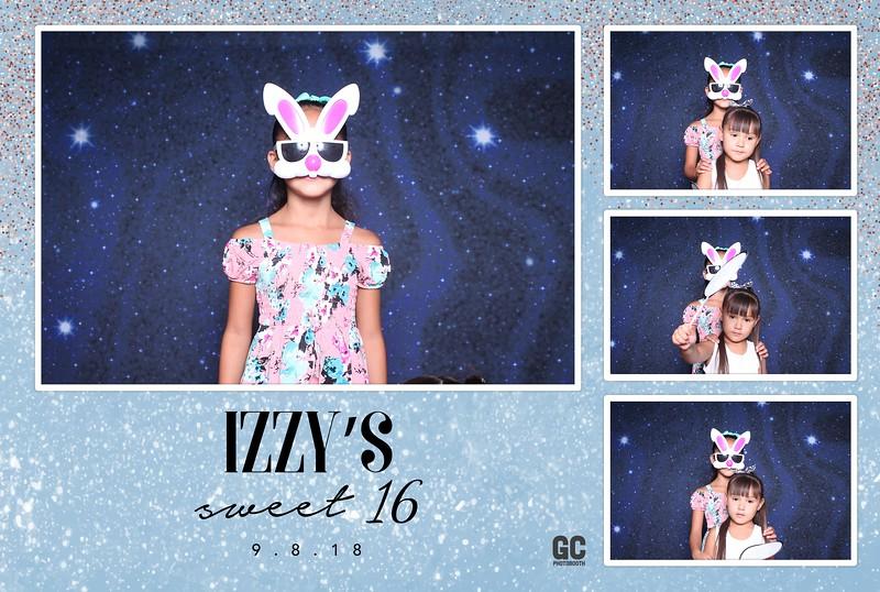 9-8-2018 Izzy's Sweet 16