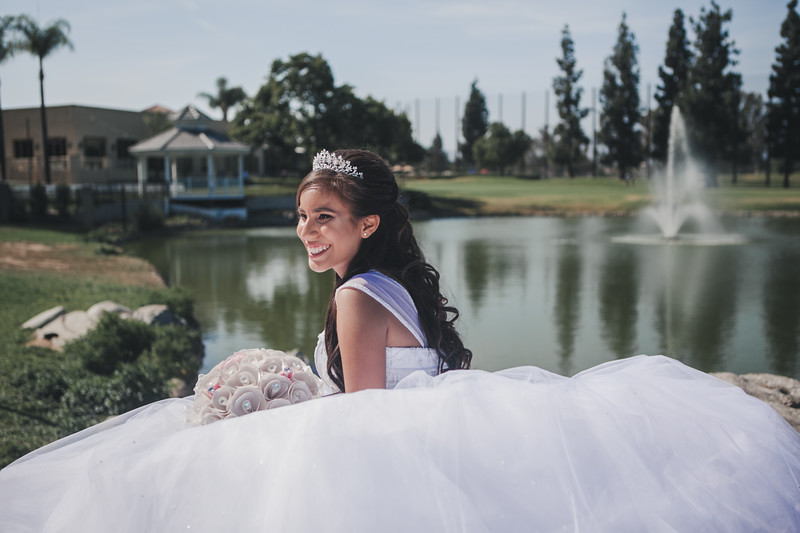 Ebony Quinceanera