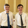 Groton-Dunstable Jazz Band performers Ben Furman and Henry Vandermillen of Groton