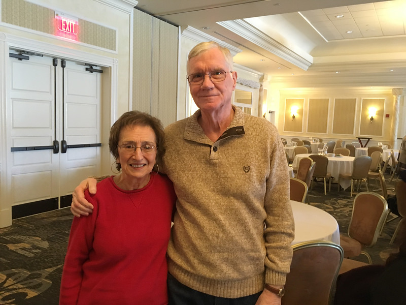 Rose Rodio of Webster and Charles Butkus of Grafton