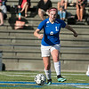 Groton Dunstable Regional High School girls soccer visited Doyle Field in Leominster to play Leomisnter High School on Tuesday Afternoon, September 24, 2019. LHS's #8 Bridget O'Malley. SENTINEL & ENTERPRISE/JOHN LOVE