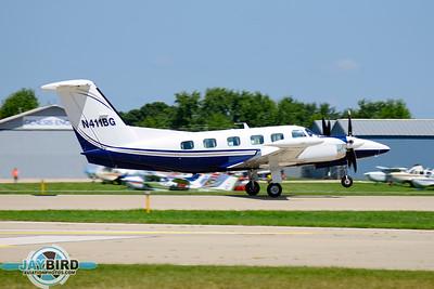 PA-42-1000;N411BG;