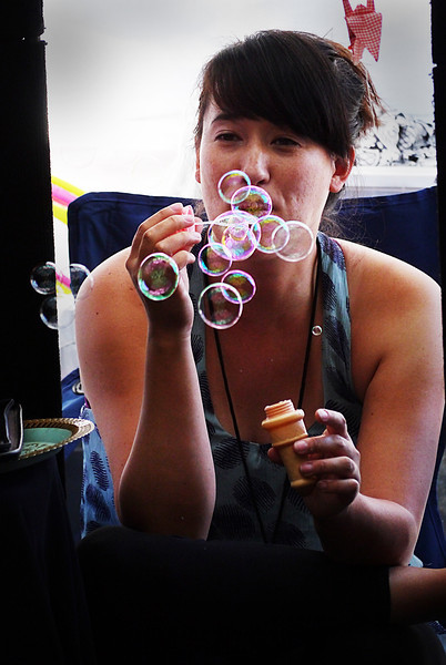BLOWING BUBBLES IN MINNEAPOLIS- G3