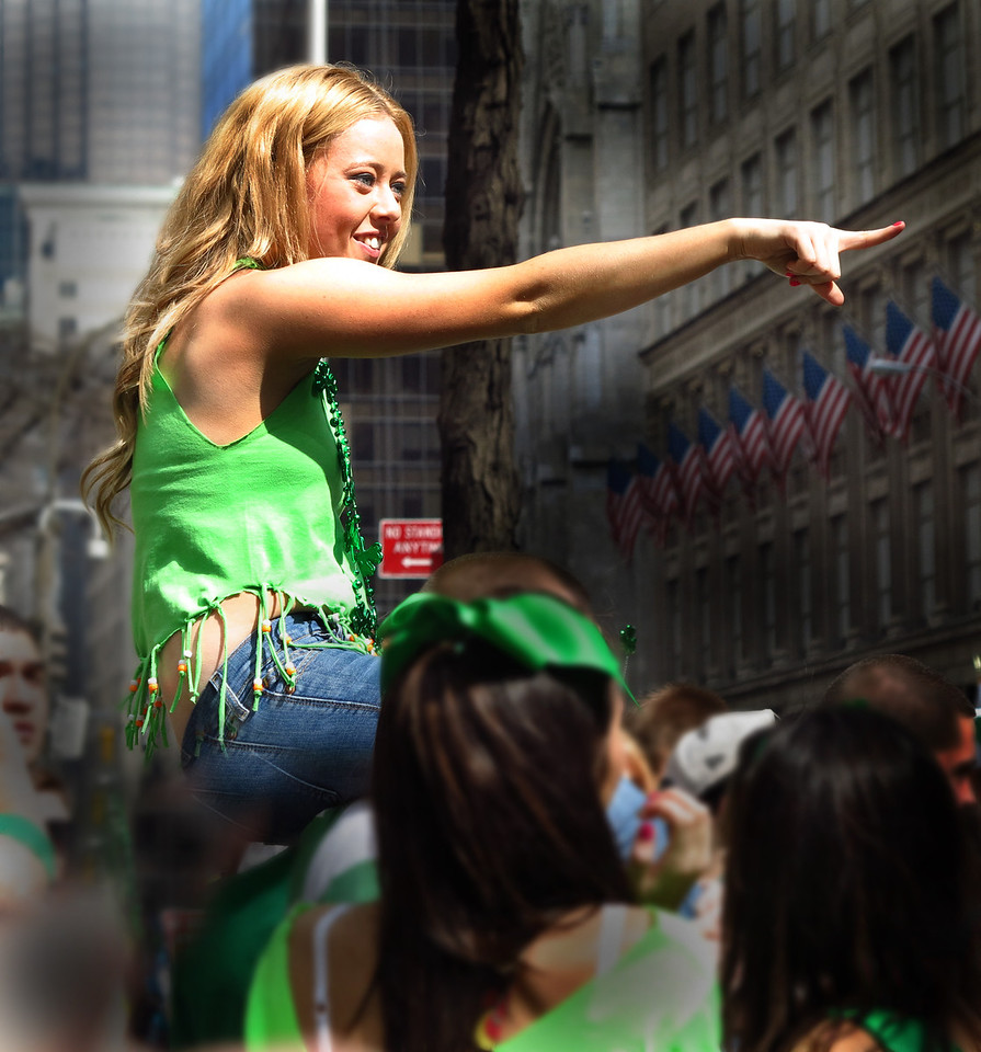 Spectator, St Pat's Day Parade 2012, New York