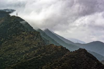 View from Jvari Monastery 6 ...