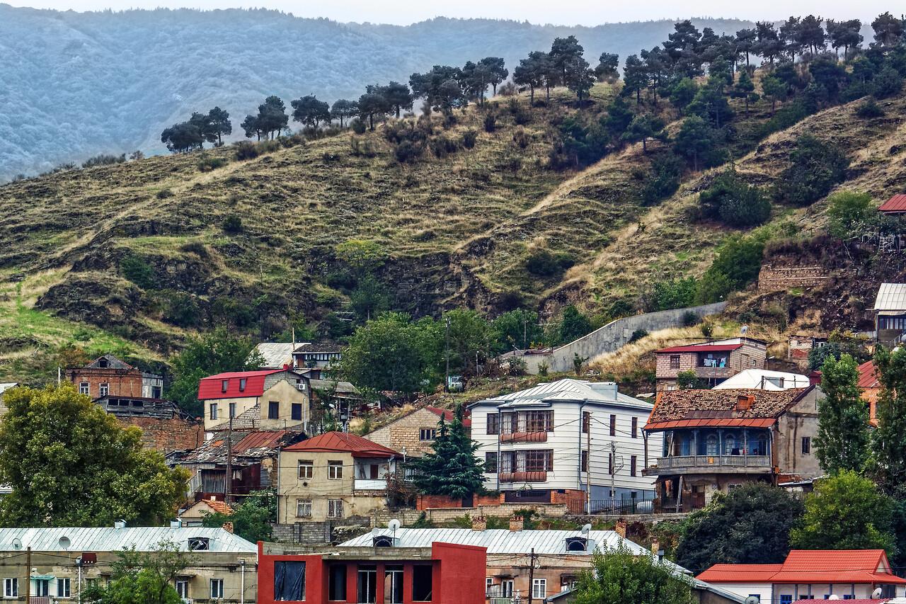 View from Jvari Monastery 7 ...