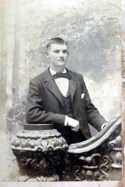 Casper Lawrence Gerdes, Sr. Born December 8, 1865, immigrated at two years old with his parents, Henry and Mary Frances (Franziska) from Westphalia area through Galveston/Indianola..