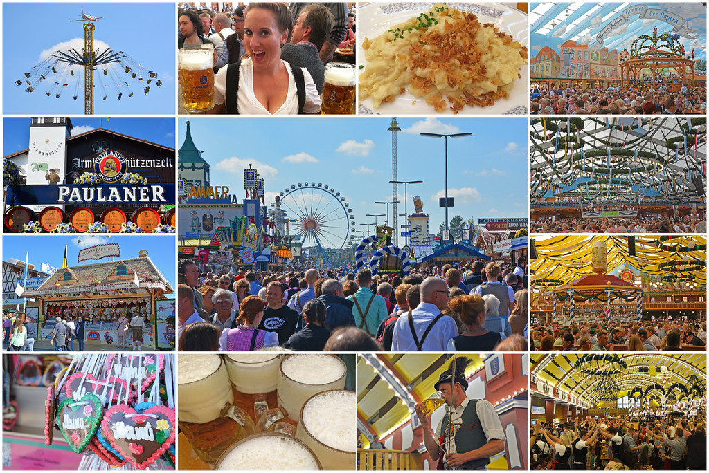 Oktoberfest in Munich Germany
