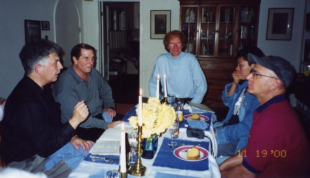 Talking Party at Jerry Fallons November 2000