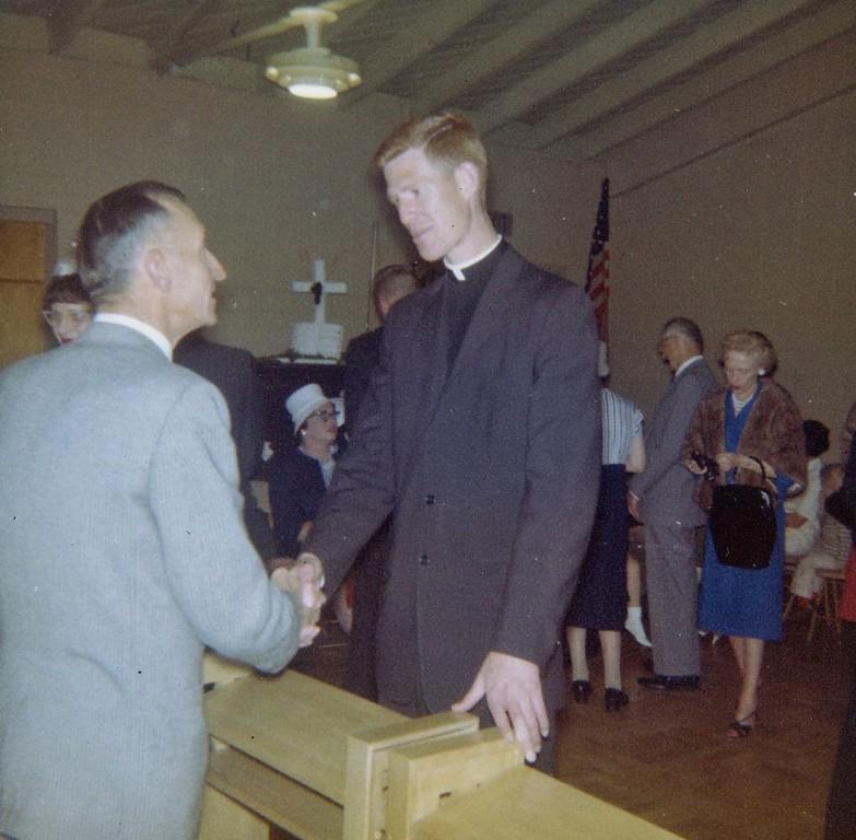 Gerry Fallon at Fred ordination