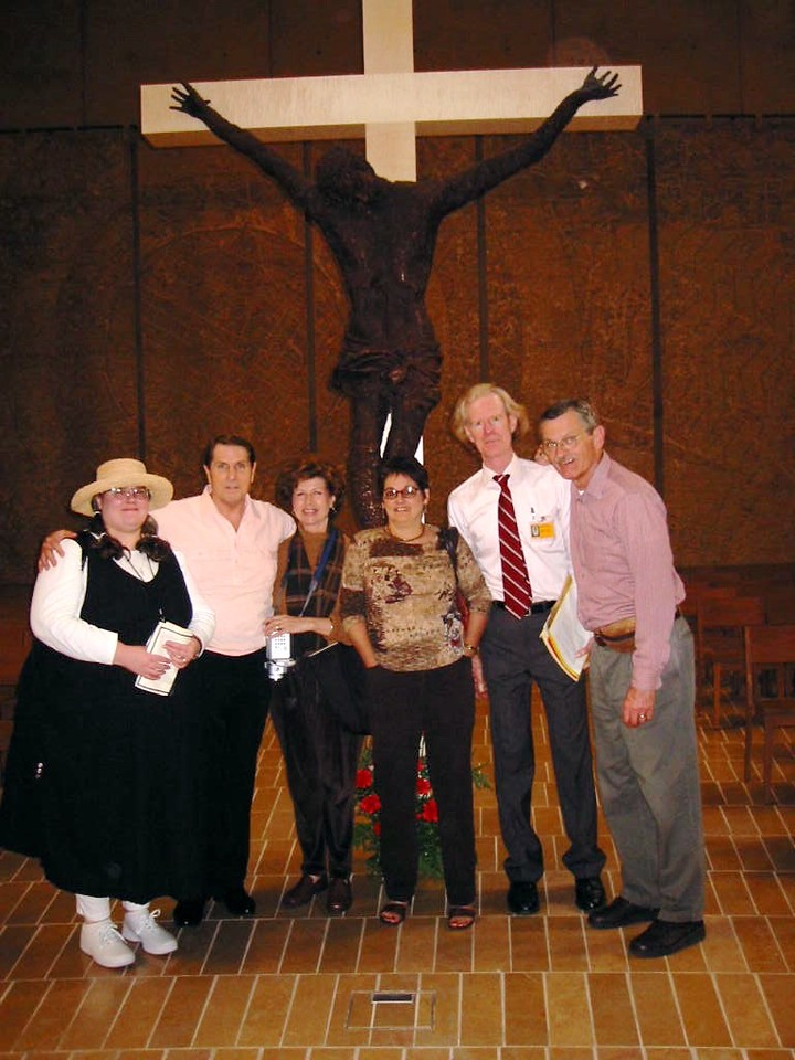 Cathedral of Our Lady of the Angels with Gerry Fallon and other LASems members