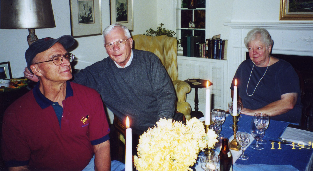 Bill with Terry and his wife Party at Jerry Fallons November 2000