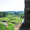 LITTLE ROUND TOP GETTYSBURG, PENNSYLVANIA<br /> Looking down to Devil's Den