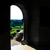 Looking down from LITTLE ROUND TOP inside the Tower