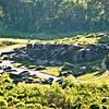LITTLE ROUND TOP GETTYSBURG, PENNSYLVANIA<br /> Looking down to Devil's Den