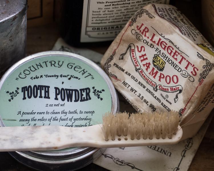 Daily Necessities circa 1860s