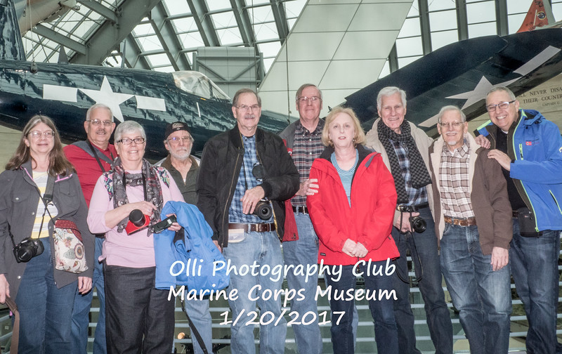 OLLI Photography Club / Natl Marine Corps Museum