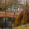 House and Upper Pond - Green Spring Gardens