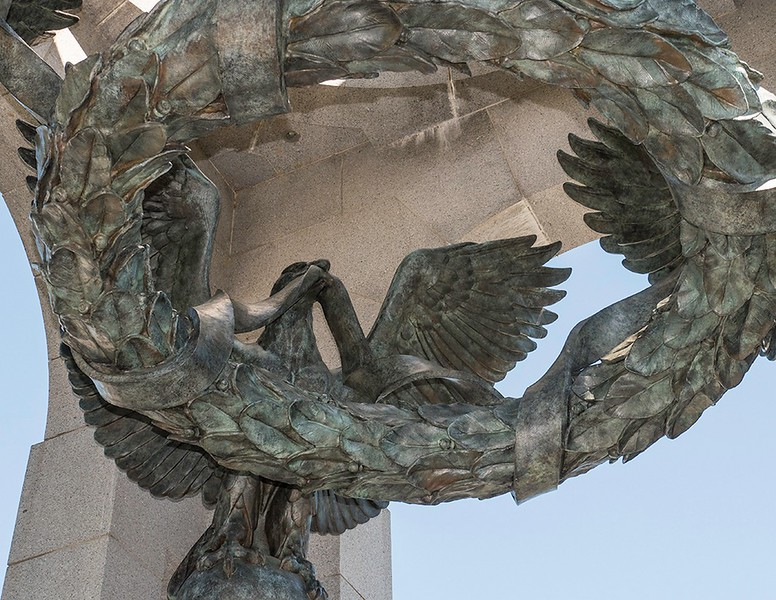 WWII BRONZE EAGLE 1010182 - Marion, 1280 Long Side