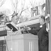 Fairfax Hospital NOVA  Left PETE BALL  Right JOHN K SMOOT  Jan 14 1961 _courtesy INOVA
