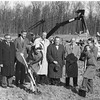 Fairfax Hospital (FHA), Groundbreaking c Nov 1958