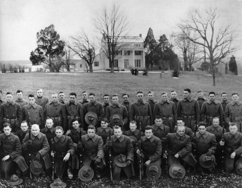 Mount Air p 048b 304th Engineers at Mount Air, 1918