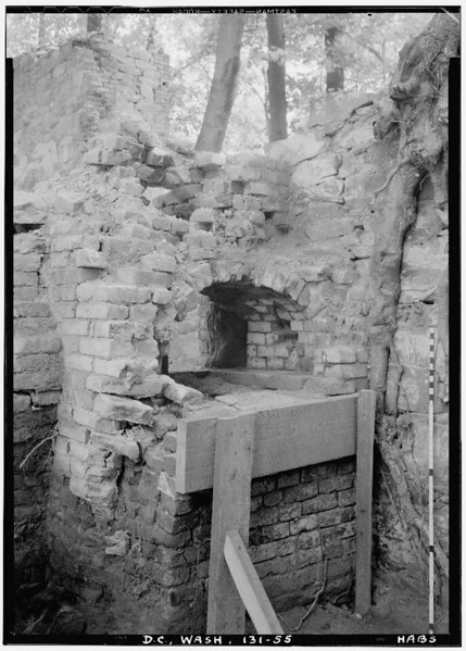 Camp Greene, Mason House Ruins (~1933, LoC dc0424 sp47) - BradshawG