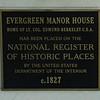 Evergreen Plantation Manor - Haymarket - 2017 - BakerB -002