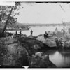 Camp Greene, Aqueduct and Soldiers (~1860-65, George Barnard, LoC cwp2003000924) - BradshawG
