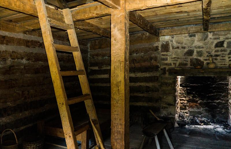 Sully Plantation - Chantilly - Slave Quarters - BakerB - 003