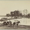 Camp Greene, Pontoon Bridge to Georgetown (June 1865, Brady, LoC 2015647130) - BradshawG