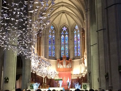 Lessons and Carols, Grace Cathedral, San Francisco