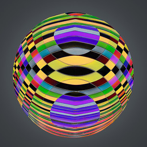 Harlequin Cue Ball